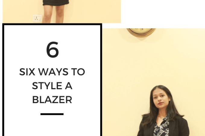 6 Workwear styles with a Blazer| Elegant and Classy